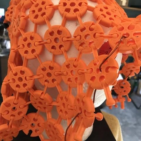5d8c6bbdc1f6f2a28bc47f89d278e4d8_display_large.JPG Download free STL file 3d printed fabric / armour prints assembled • 3D printer model, drewrokebythomas