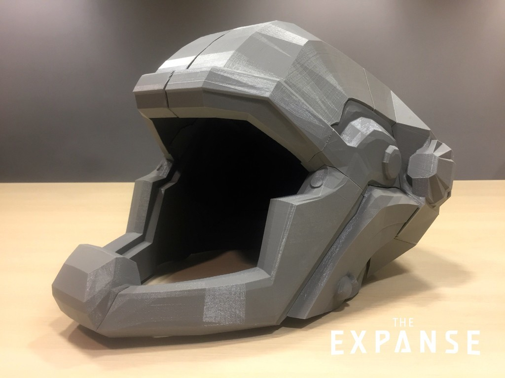 4a1af6ee4db438d586a764ded0bf9966_display_large.jpg Download free STL file The Expanse - Martian Space Helmet • 3D printable template, SYFY
