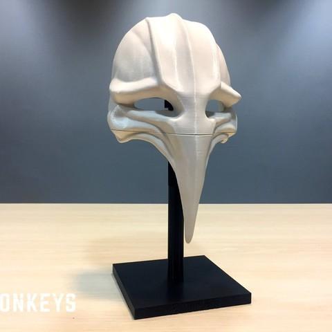 Download free 3D model 12 Monkeys - Plague Mask, SYFY