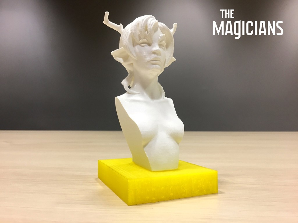 2143ab016139b19e2a2a30fbcc946923_display_large.jpg Download free STL file The Magicians - The White Lady • 3D printable object, SYFY