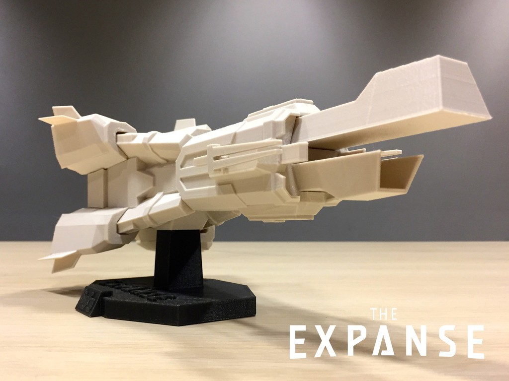 a50f95647f781a152c04ad5c3ef29dec_display_large.jpg Download free STL file The Expanse - The Donnager v2.0 • 3D printable model, SYFY