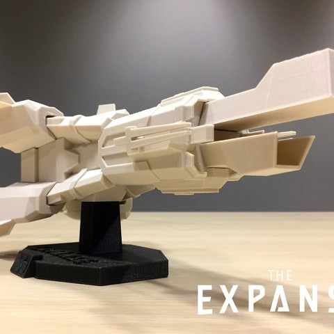 Free 3D printer designs The Expanse - The Donnager v2.0, SYFY