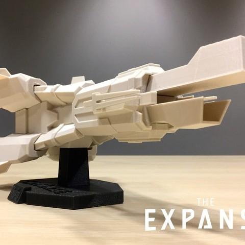 Télécharger fichier impression 3D gratuit The Expanse - The Donnager v2.0, SYFY