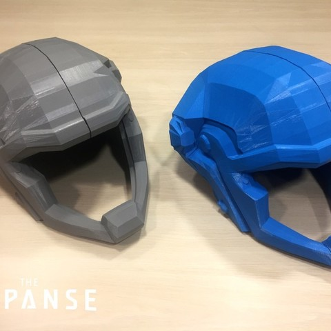 3c41f71dbb500ebc8821855ba937612c_display_large.jpg Download free STL file The Expanse - Martian Space Helmet • 3D printable template, SYFY