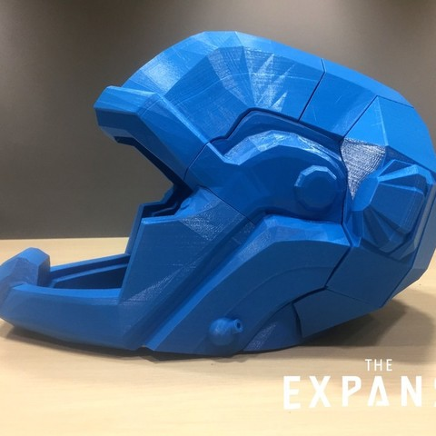 2652346d66d21872b3bfc1c461906975_display_large.jpg Download free STL file The Expanse - Martian Space Helmet • 3D printable template, SYFY