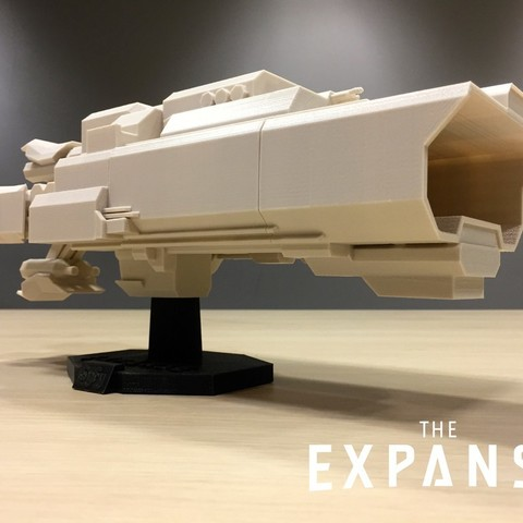 Download free 3D printing templates The Expanse - The Canterbury v2.0, SYFY