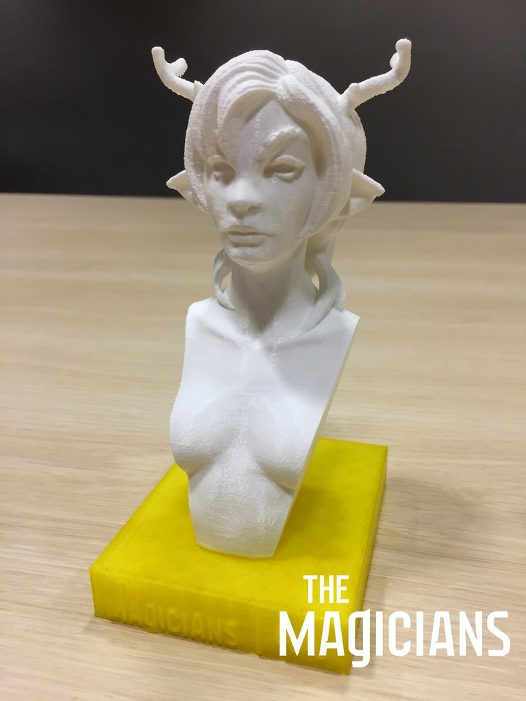 03202447d6b4c2323cb4da7d5d045ef2_display_large.jpg Download free STL file The Magicians - The White Lady • 3D printable object, SYFY