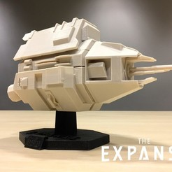 Download free 3D printer model The Expanse - The Knight v2.0, SYFY