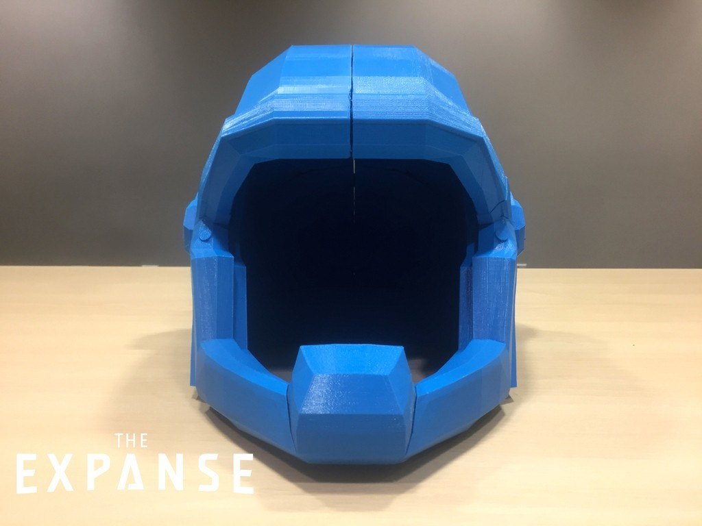 f950b4203739c440f7fddffda720de3d_display_large.jpg Download free STL file The Expanse - Martian Space Helmet • 3D printable template, SYFY
