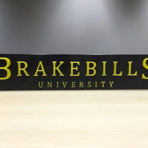 Fichier STL gratuit The Magicians - Logo de l'Université de Brakebills, SYFY