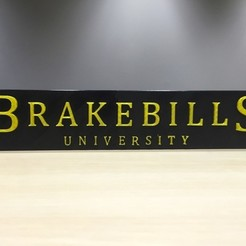 Download free 3D print files The Magicians - Brakebills University Logo, SYFY