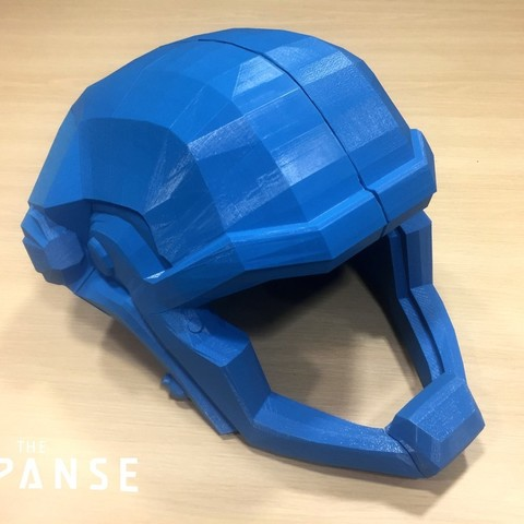 c7d805053705edf36a7ef3f65c1f6377_display_large.jpg Download free STL file The Expanse - Martian Space Helmet • 3D printable template, SYFY