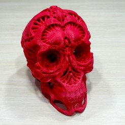 04035869b3cff42362c74fe1ada8c674_display_large.jpg Download free OBJ file Hunters - Hunter's Skull • 3D printable template, SYFY