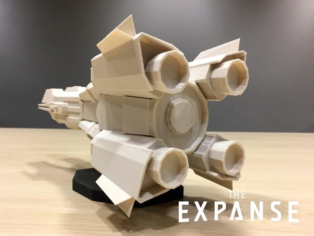 33071af841512f12fd50893fc46e1d09_display_large.jpg Download free STL file The Expanse - The Donnager v2.0 • 3D printable model, SYFY