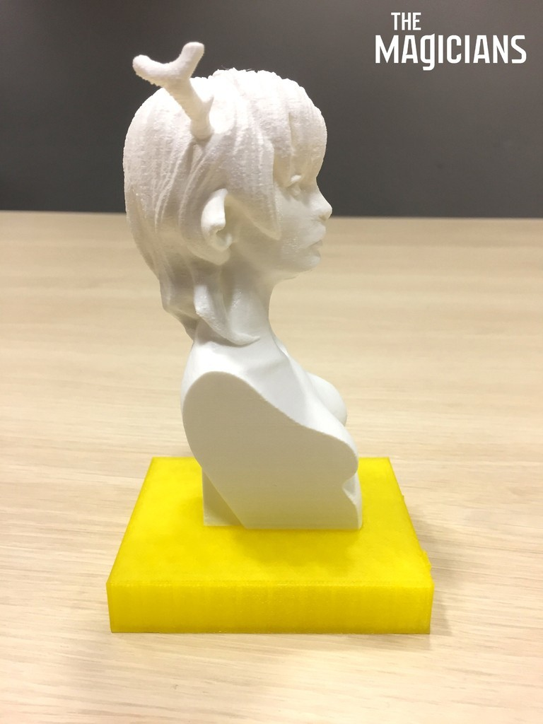 73821ff12e8a71de87ff287a2b9a80ad_display_large.jpg Download free STL file The Magicians - The White Lady • 3D printable object, SYFY
