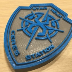 Download free 3D printer designs The Expanse - Star Helix Security Logo, SYFY