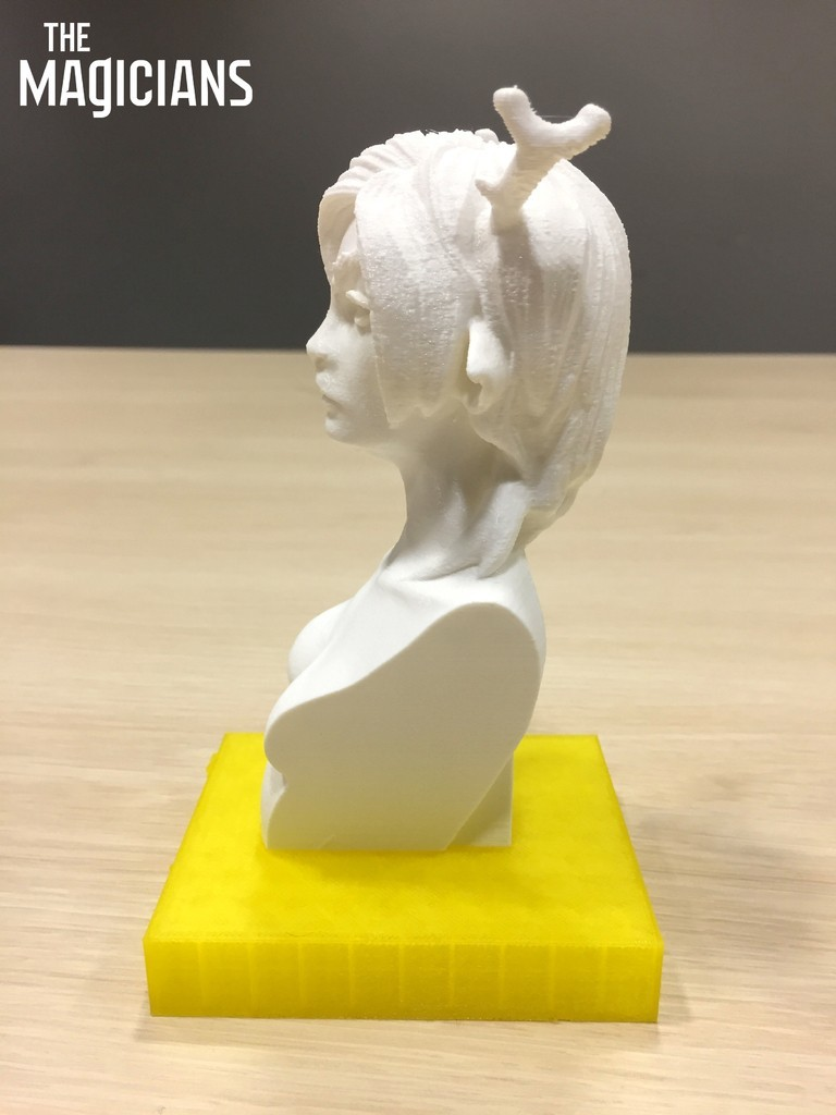 1a4440c75f1aa966ff155fb04734b2ad_display_large.jpg Download free STL file The Magicians - The White Lady • 3D printable object, SYFY