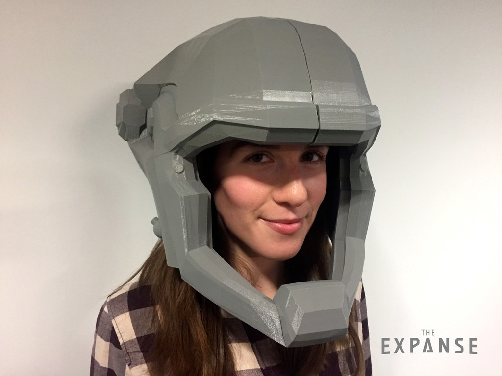 9b059c1abd0e25ffb66c133aa3a5e7de_display_large.jpg Download free STL file The Expanse - Martian Space Helmet • 3D printable template, SYFY