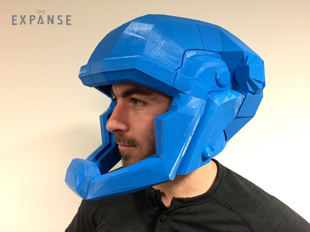 bc365a9ff7bd2ebbafff9c154cbb9080_display_large.jpg Download free STL file The Expanse - Martian Space Helmet • 3D printable template, SYFY