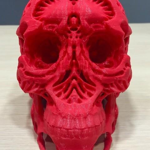 c9be83d4a0ec13eb6d72cd43153f2a6c_display_large.jpg Télécharger fichier OBJ gratuit Chasseurs - Crâne de chasseur • Modèle imprimable en 3D, SYFY