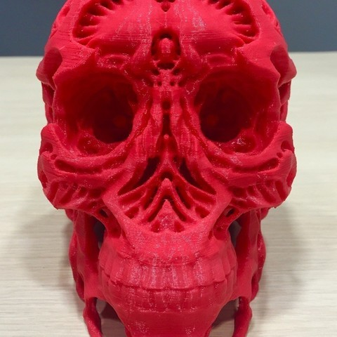 c9be83d4a0ec13eb6d72cd43153f2a6c_display_large.jpg Download free OBJ file Hunters - Hunter's Skull • 3D printable template, SYFY