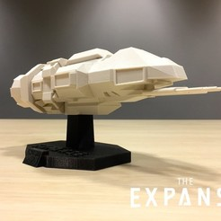 a77c990530cc4f118abc7c739b003ed9_display_large.jpg Download free STL file The Expanse - The Rocinante v2.0 • 3D print model, SYFY