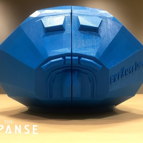 a718f86aad7f1395a2e8b9f21f6bd00e_display_large.jpg Download free STL file The Expanse - Martian Space Helmet • 3D printable template, SYFY