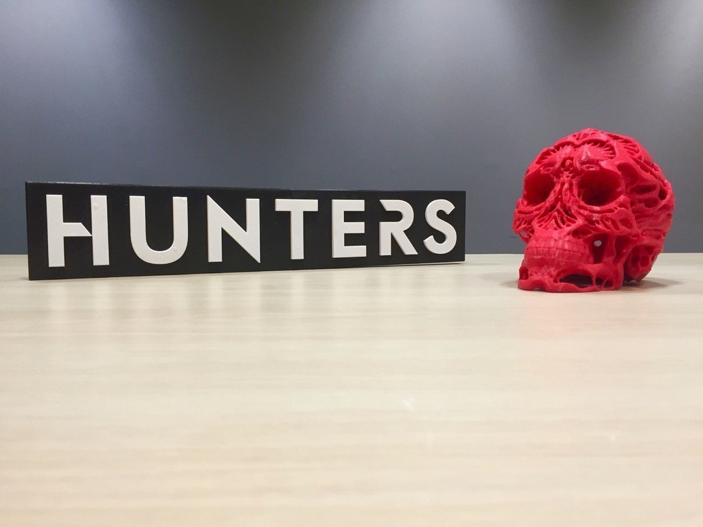 663a07c3b7e480319cbd98aa9a7ef02e_display_large.jpg Download free OBJ file Hunters - Hunter's Skull • 3D printable template, SYFY