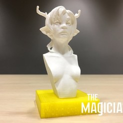 Download free 3D printing models The Magicians - The White Lady, SYFY