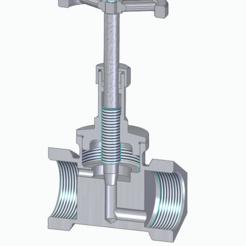 Download STL files High pressure valve, hejkoni