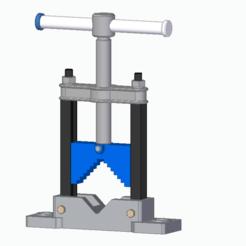 Képkivágás.PNG Télécharger fichier STL Étau pour tube • Objet pour impression 3D, hejkoni