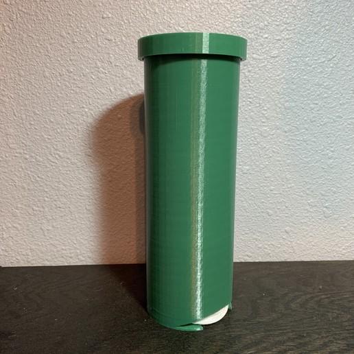 Download free 3D model Cotton Round Dispenser, gmlipp