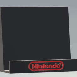 Download STL file Nintendo NES/SNES//N64DS/3DS/GBA Game Stand Pack, Linkhero
