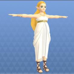 Download 3D printer designs Princess Zelda Breath Of The Wild, Linkhero
