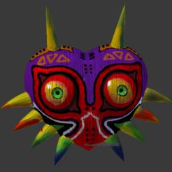 Download 3D printing files Majora zelda's mask, Linkhero