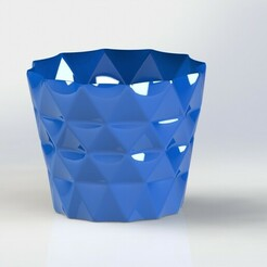 flower pot.JPG Download free 3MF file Flower pot • Template to 3D print, FZK
