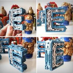 Imprimir en 3D Letra del alfabeto E Steampunk, Alphonse_Marcel