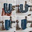 Télécharger objet 3D Letter U Steampunk, Alphonse_Marcel