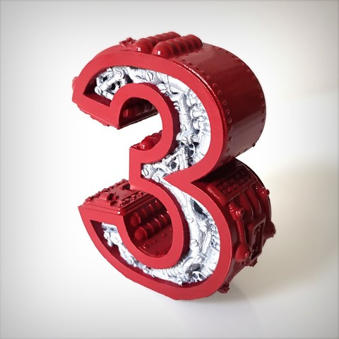 Télécharger plan imprimante 3D Steampunk number 3, Alphonse_Marcel