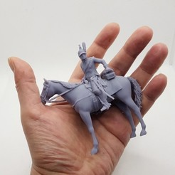 Napoleon_Dragoon_Stand_03.jpg Télécharger fichier STL Napoleonic Dragon Cavalery • Plan imprimable en 3D, Alphonse_Marcel