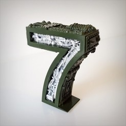 Impresiones 3D Steampunk número 7, Alphonse_Marcel