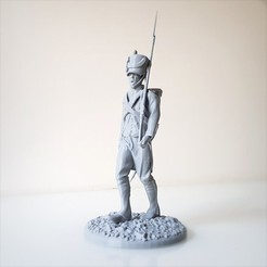 Download 3D printing files Napoleonic soldier walk, Napoleonic Infantry 1805., Alphonse_Marcel