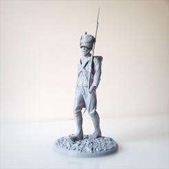 Descargar diseños 3D Paseo del soldado napoleónico, Infantería Napoleónica 1805., Alphonse_Marcel