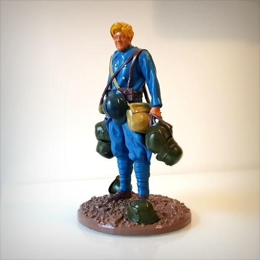 Télécharger fichier STL Helmet hunter (Le chasseur de casque), Alphonse_Marcel