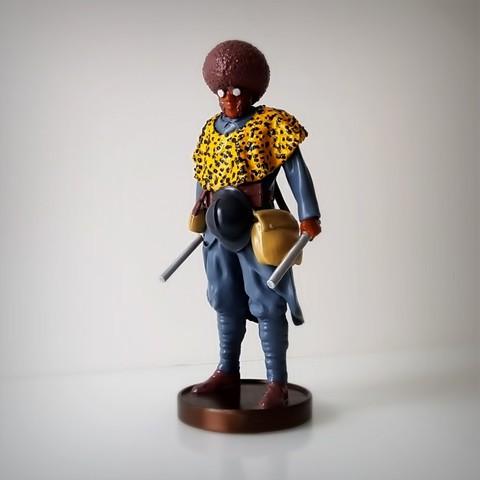 Archivos STL Soldado negro, ww1, Alphonse_Marcel