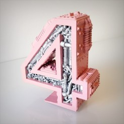 Download 3D printer designs Steampunk number 4, Alphonse_Marcel
