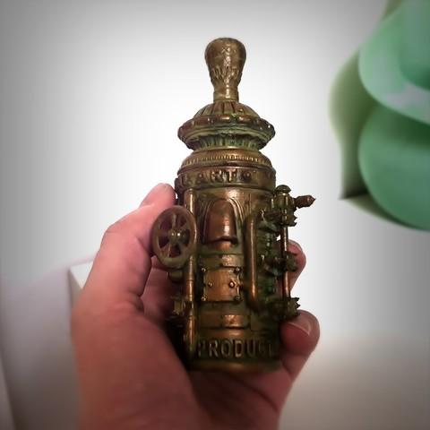 Télécharger objet 3D Boite Steampunk spaciale, Alphonse_Marcel