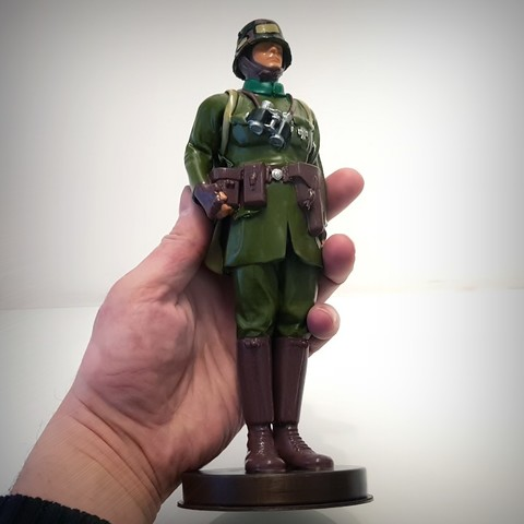 3D printer models German soldier ww1, vintage toy., Alphonse_Marcel