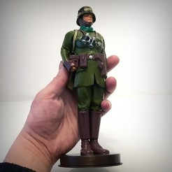 Fichier impression 3D German soldier ww1, vintage toy., Alphonse_Marcel