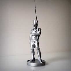 3D printer files Napoleon Infantery, Alphonse_Marcel
